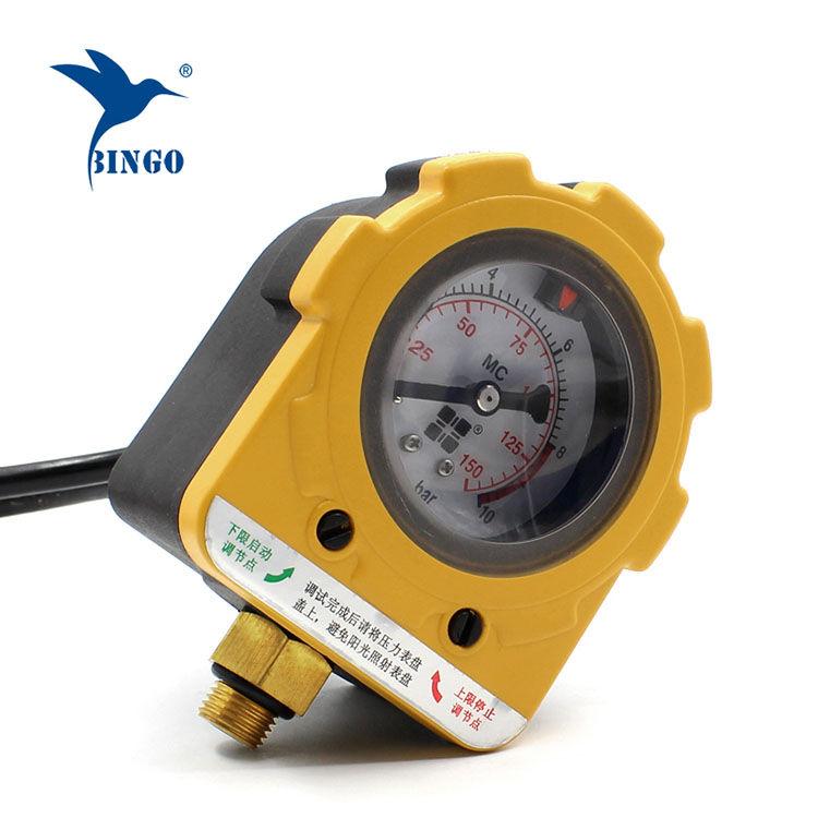 مضخة تحكم ضغط المياه الرقمية ذكي ON OFF تبديل 220V