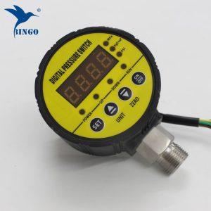 مفتاح ضغط ذكي ، مفتاح ضغط تفريغ ، شاشة رقمية مكونة من 4 أرقام