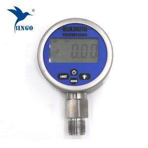 فراغ ذكي قياس الضغط الرقمي ، شاشات الكريستال السائل ، وأدى العرض ، 100mpa المقياس