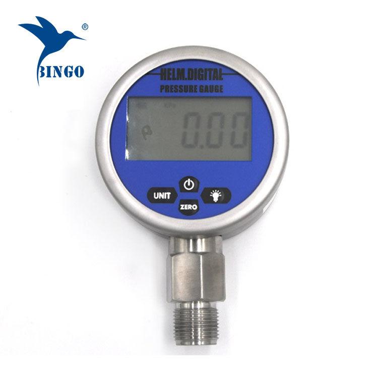 مقياس الضغط الرقمي الذكي ، LCD ، شاشة LED ، مقياس 100MPa