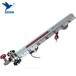 شنت الجانبية SUS304SUS316L مقياس المستوى المغناطيسي