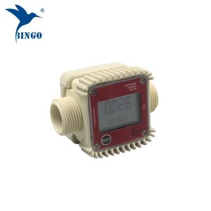 أعلى جودة 10-120L / دقيقة الرقمية وقود المياه الإلكترونية التوربينات تدفق متر
