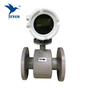 أجهزة قياس التدفق شفة تدفق المياه الكهرومغناطيسية متر